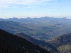 View from Whiteface Mountain