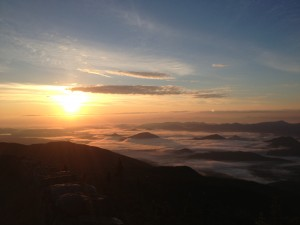 Dawn on Whiteface
